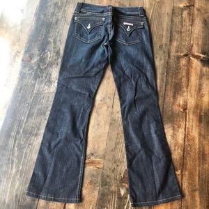 Hudson Flap Bootcut Jeans 26